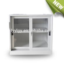 Office furniture living room furniture small sliding glass door kitchen cupboard