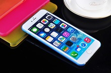 10 Colors 2 different Size Utral Thin Frosted shield case for iphone 6 4.7inch and iphone6 plus 5.5inch