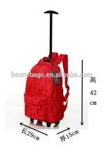 Popular Fashion Design Waterproof Endurable Alibaba Top Selling Trolley Backpack School Bag