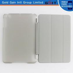 High Quality Art Design Custom smart pu flip case for ipad mini