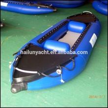 China wholesale 12 ft inflatable ocean/sea fish kayak