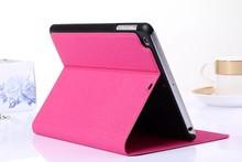 Matte Skin Folio Flip Stand Leather Case For ipad mini 3