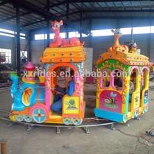 Hot! kids electric amusement track trains ride amusement train ride