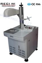 high speed fiber laser maring machine with 20W laser generator