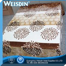 Crocheted wholesale coral fleece blanket comforter