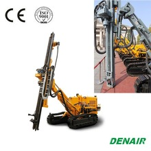 250bar Energy saving hydraulic rock blast hole drill rig