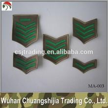 army rank military uniform patch