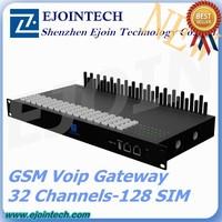 Anti Sim Blocking!! New Arrival GoIP Ejoin 32 channel 128 sim Gsm Gateway z-wave gateway