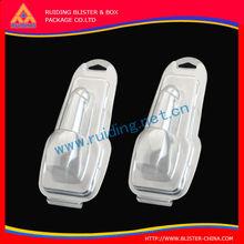 (ISO9001 SGS) custom plastic phone case clamshell blister packaging