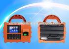 Waterproof Time clock/USB fingerprint scanner/Biometric device with WiFi or GPRS -TFT500P