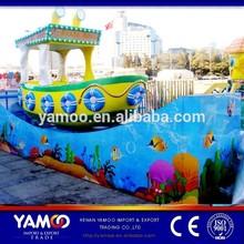Popular Amusement Park Electric Rides Era Spin Boat / Slide Boat, Track Rides for Sale