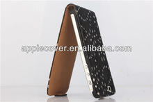 Fashionable accessories for i Phone5 s Bling Bing Flip Case