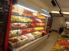 VEGS &FRUITS display fridge COOLER FOR SUPERMARKET 110V China factory