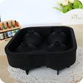 Esfera de la bola de hielo fabricante - clásico negro bola de hielo del silicón del molde