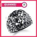 para hombre del diseñador dedo 316l anillos de aceroinoxidable de joyería vintage niños león anillo de los hombres para los nuevos productos en el mercado de china