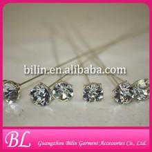 decorative diamond pin pick for wedding bouquet