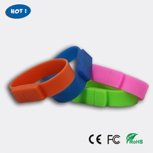 Silicone Bracelet USB Flash Drive 1GB - 32GB Custom Made