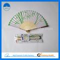 tecido de bambu mão fãs de marketing global corporation
