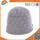 100% Acrylic High quality custom winter hat beanie