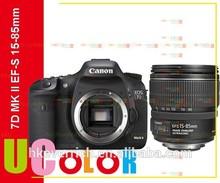 Originales de canon eos 7d mark ii dslr cámara con cuerpo ef-s 15-85mm f3.5- 5.6 is usm lentes