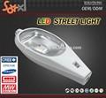 de policarbonato pellets bola 70w led de luz de calle