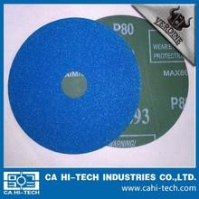 Resin bond abrasive Fiber disc zircon