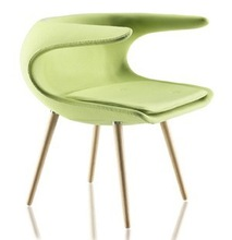 Modern fiberglass frost chair/fiberglass eames dsw side chair/home chair