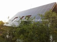 sinosola's solar panel installation with TUV/IEC61215/IEC61730/CEC/CE/PID