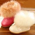 ts3252 atacado crianças neve botas de inverno botas de pele quente sapatos das meninas sapatos botas