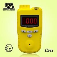 Portable Gas Methane Detector, CH4 Gas Meter