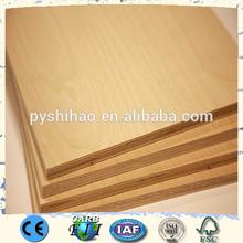 pine or eucalyptus core jas plywood / hot sale pvc edge banding