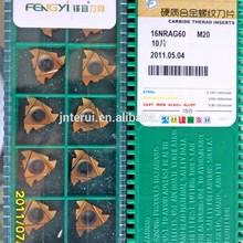 China Quality Supplier of CNC Lathe Threading Insert 16NRAG60 M20