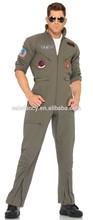 Adult flight attendant uniforms Suit Jacket Top Gun Costume QAMC-2226