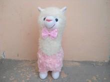 30cm plushn pet toys,alpaca shaped soft toy for new year,animal shape toy of stuffed goat plush toy