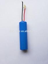 advanced 1s1p 2200mah li ion battery pack for lg
