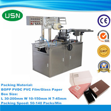 Automatic coffee overwrapping machine