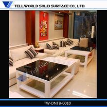 Materiale ambientale superficie solida moderno tavolo da pranzo dimensioni, salone marocchino set