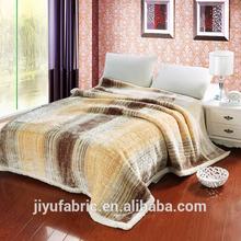 Turkish style Polyester raschel Blanket