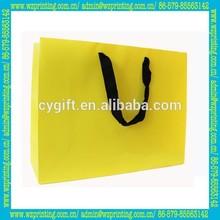 china alibaba custom yellow jute shopping bag wholesale