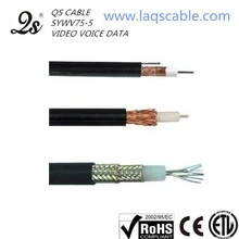 coaxial cable 5c2v 75 ohm rg6 digital cable tv receiver decoder