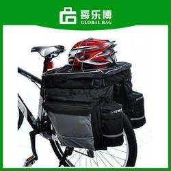 3 In 1 Cycling Bicycle Bag Bike Rear Seat Bag