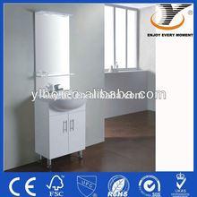 2014 Modern Design white bathroom cabinet by push-open