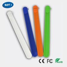 promotion gift silicone bracelet usb flash drive