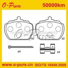 para xylene and stone brake pad & brake shoe no noise