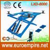 LXD-6000 China alibaba express automobile car scissor lift / car lift / CE motorcycle lift jack