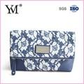 2014 impresión de la flor de las señoras embrague bolso de noche