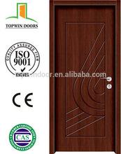 Zhejiang yongkang new product PU paint wooden door swing open interior wood door