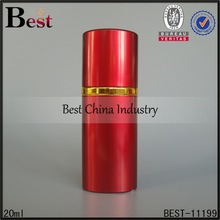 20ml red round perfume atomizers, wholesale red round perfume atomizers, amazing tube bottles best-selling in europe