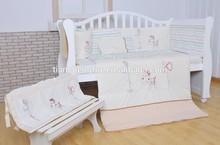 baby cot bed bumper nursery bedding-Cute Horse baby bedding set Series