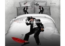 Michael Jackson Character Print Cotton 3d Bedding Sets